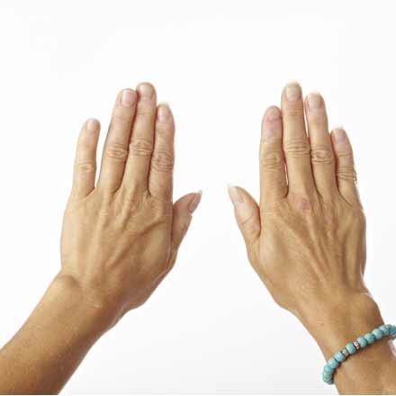 Reiki hænder